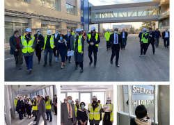 "The UEA ambassador visits the ""Sheikha Fatima's Children's Hospital"" in UCCK"